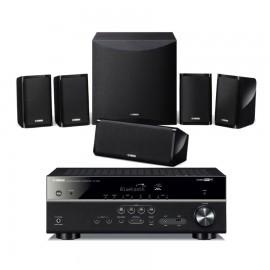 Sistema Home Cinema Yamaha Musiccast YHT-4854 con altavoces