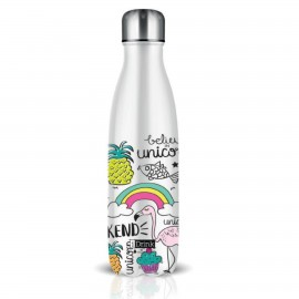 Botella i-total 500 ml. unicornio