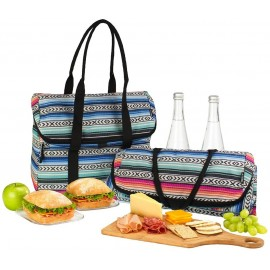 Bolsa refrigerante para picnic tote fiesta