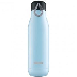 Botella termo Zoku 750 ml azul claro