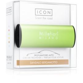 Ambientador Coche Millefiori Icon verde Sándalo bergamota