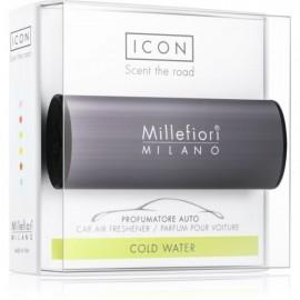 Ambientador Coche Millefiori Icon antracita Cold Water