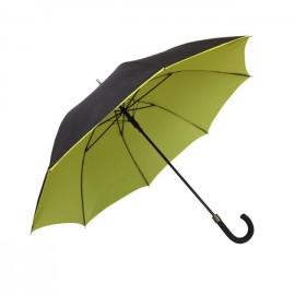 Paraguas doble amarillo