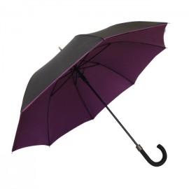 Paraguas doble berenjena