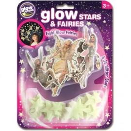 Hadas y estrellas fluorescentes