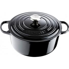 Cocotte ronde noir 26