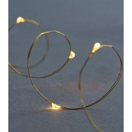 Luces decorativas 20 Leds Knirke gold