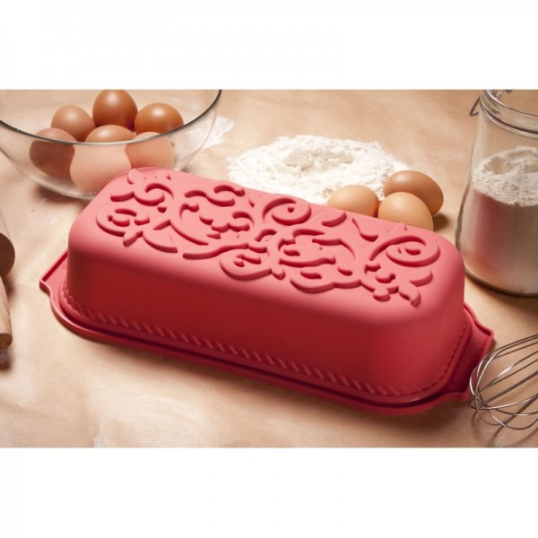 Molde plum cake ornamental Silikomart