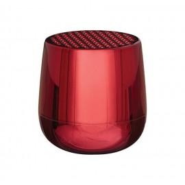 Altavoz Lexon Mino + rojo metalizado