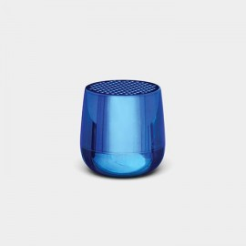 Altavoz Lexon Mino + azul metalizado