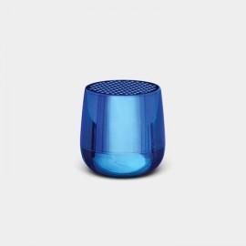 Altavoz Lexon Mino bleu metalicé