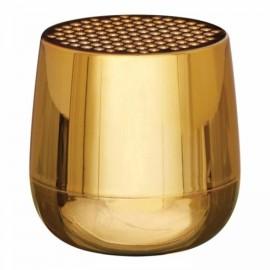 Altavoz Lexon Mino + dorado metalizado