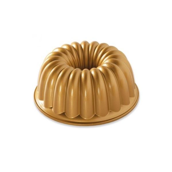 Nordic ware elegant party dorado