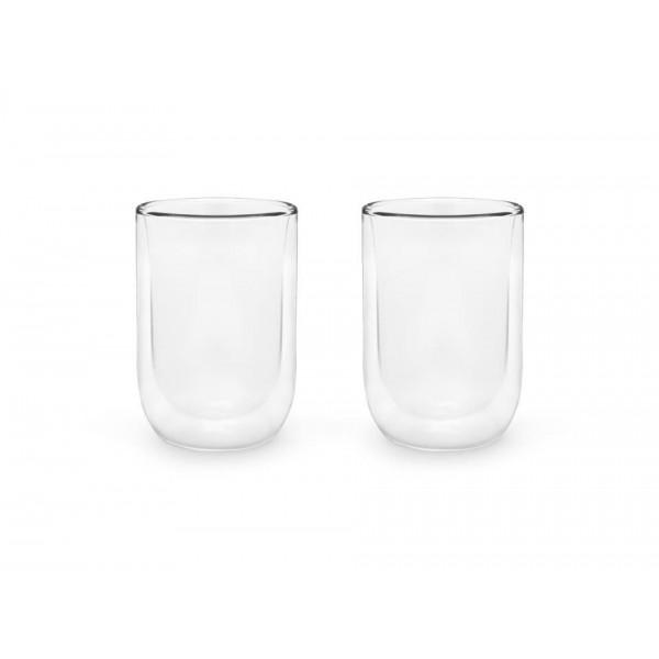 Vaso refresco de doble pared 290 ml, set de 2