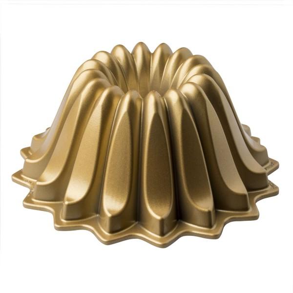 Molde Nordicware Lotus dorado