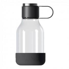 Botella 1,5L+cuenco mascotas silicona