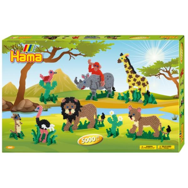 Set de Hama animales 5000 p.