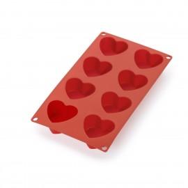 Molde corazon 8 cavidades Lékué