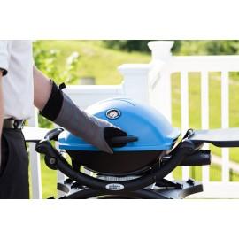 Barbacoa Weber Q 1200 azul a gas