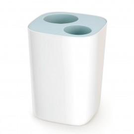 Papelera de baño con separación de residuos