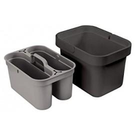Cubo de limpieza con cesta extraible