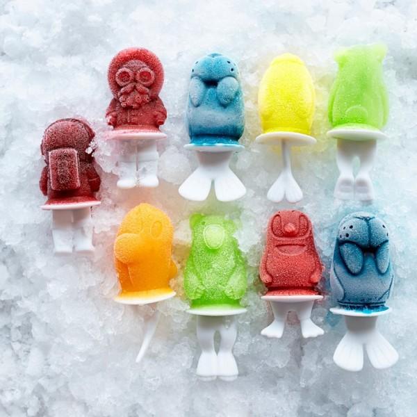 "Molde para helados ""polar pops"""
