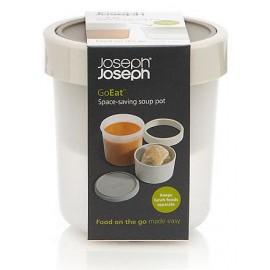 Go eat sopa. Tarro para sopa ahorra espacio.