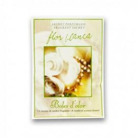 Mini sachet perfumado Flor blanca