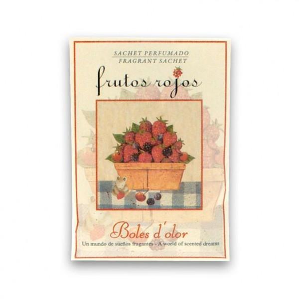 Mini sachet perfumado frutos rojos