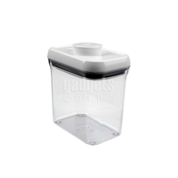 Pop 1,6 l. contenedor hermético rectangular