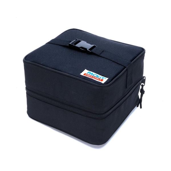 Bolsa de ensalada que refrigera packit, negra