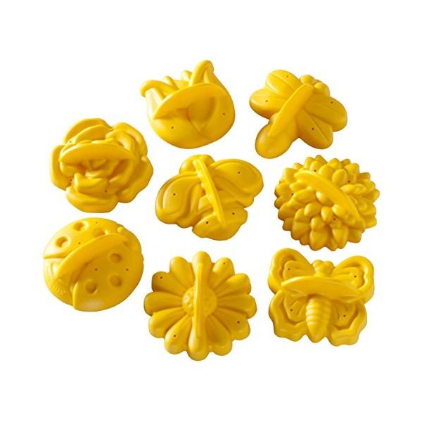 Cortadores de galletas flores de jardín