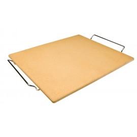 Piedra pizza 40 x 35 con soporte