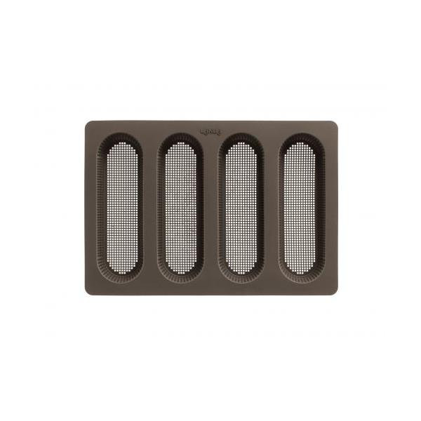 Mode de 6 cavidades para panecillos redondos, perforado