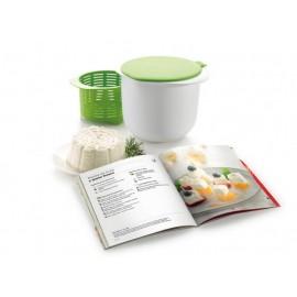 Kit queso fresco con libro de recetas Lékué