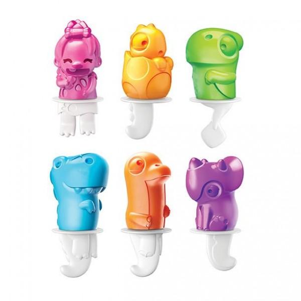 Moldes de helados Dino pops
