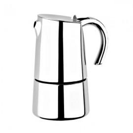 Cafetera Bra bella acero inox 6 tazas