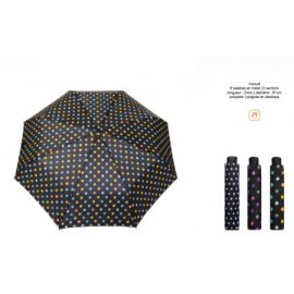 Paraguas plegable manual puntos Smati