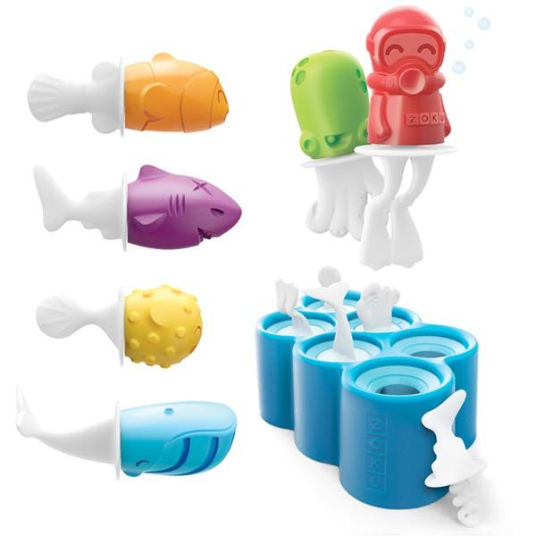 Molde para helados con forma de peces