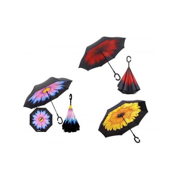 Paraguas reversible anti viento Smati