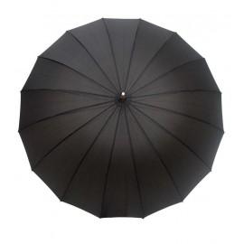 Paraguas automático anti viento lunares plata Smati