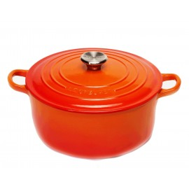 Cocotte redonda Le Creuset 26 Volcánico