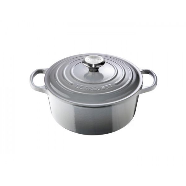Cocotte redonda Le Creuset 24 Mist Grey (gris)