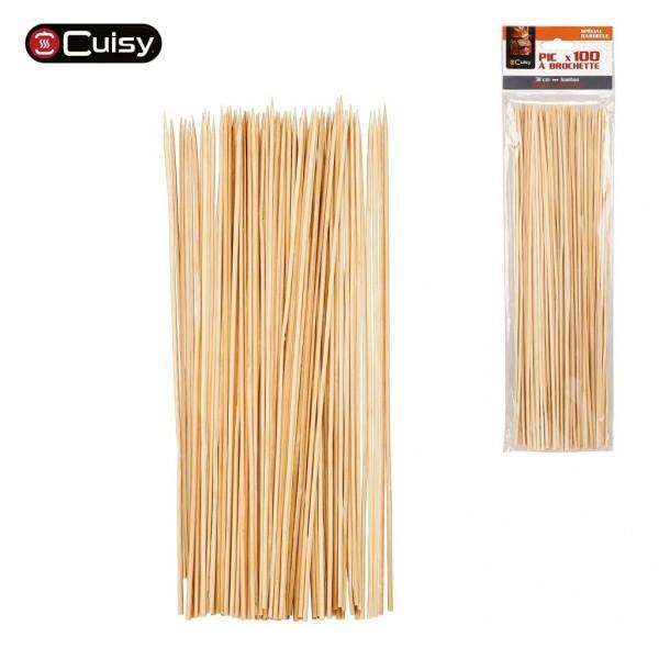 Brochetas de Bambú de 30 cm