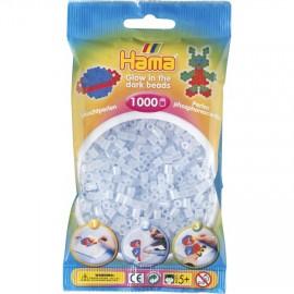 Hama midi 207-57 fosforescentes azul