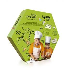 Kit galletas animales con decopen y tapiz cocción Lékué