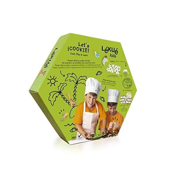 Kit galletas animales con decopen y tapiz cocción Lékué - Things-store