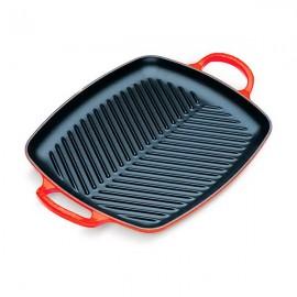 Parrilla grill cuadrada de 24cm Le Creuset