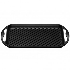 Parrilla grill rectangular Le Creuset color negro