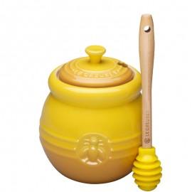 Bote de miel con espátula Le Creuset